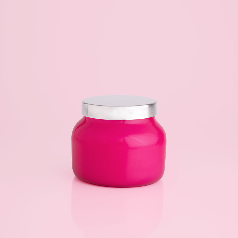 Capri Blue Volcano Petite Pink Jar 8 oz-Capri Blue Candles-The Bugs Ear