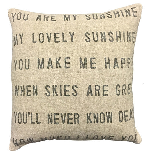 You are my Sunshine Pillow-Sugarboo Designs-The Bugs Ear