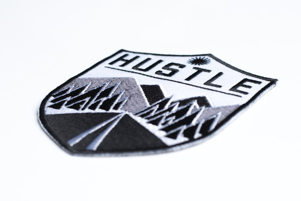 Hustle Down The Road Patch