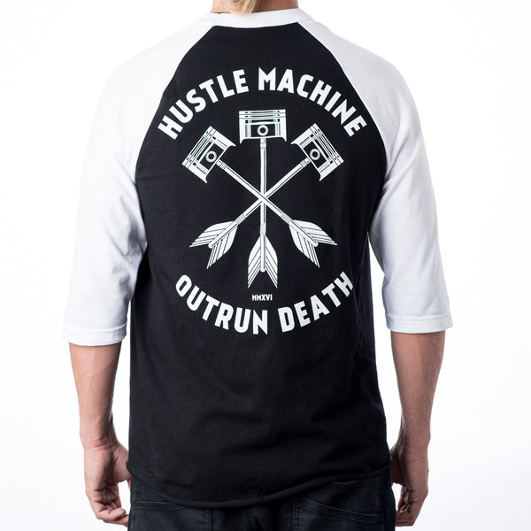 Triple Piston Arrow Raglan
