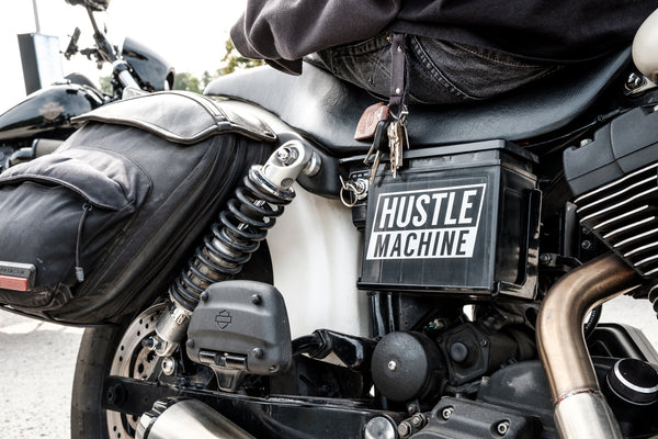 Hustle Machine Vinyl Sticker