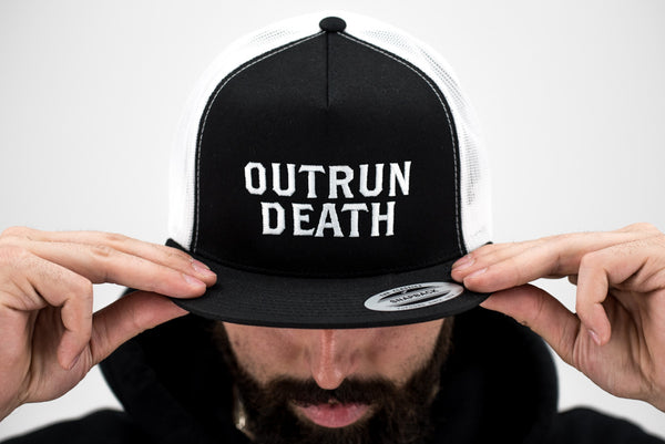 Outrun Death Trucker Hat