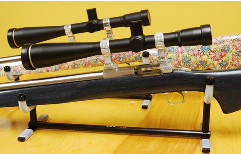 "Cleaning Cradle - PMA - Single Rifle to suit rifles with 3"" forend - Xtra Long - Hoplon Precision"