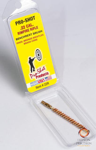 Bronze Brush - Pro Shot - Rifle 22 cal rimfire - Hoplon Precision