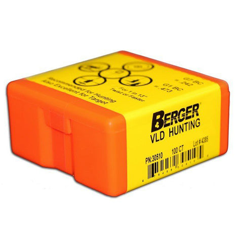 Bullets - Berger - 7mm - 168gr - VLD Hunting - Hoplon Precision