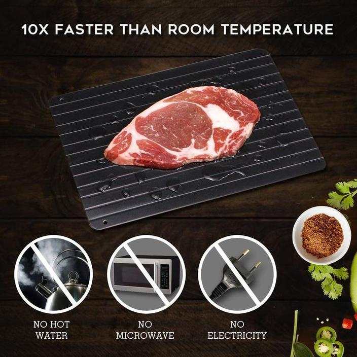 ThawBoard - Ultra Fast Thawing Tray - Frozen to Thawed in 30 Min or Less!