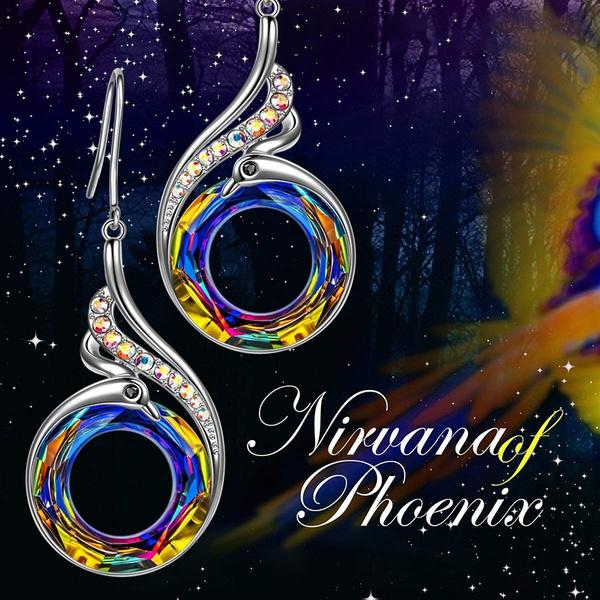 Rise Of The Phoenix Earrings