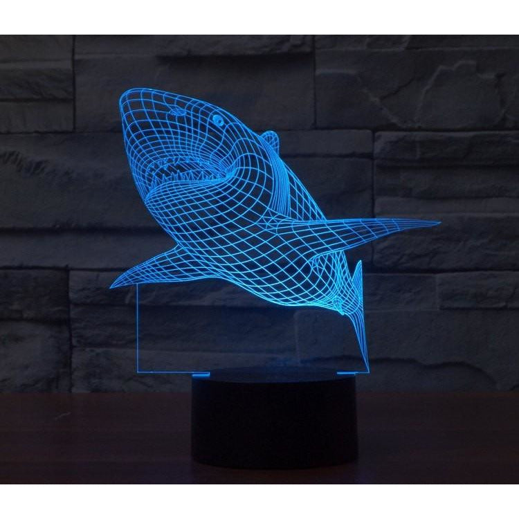Shark 3d Led Light Free Shipping For A Limited Time