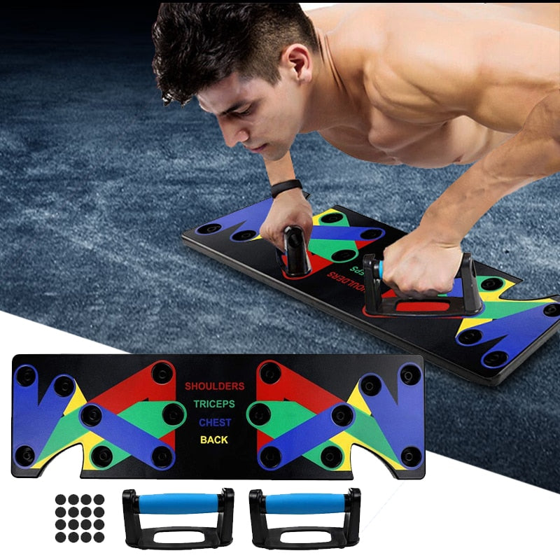 9 in 1 Push Up Rack HIIT Style Board