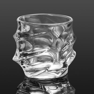 Poseidon's Fury Crystal Whiskey Glass