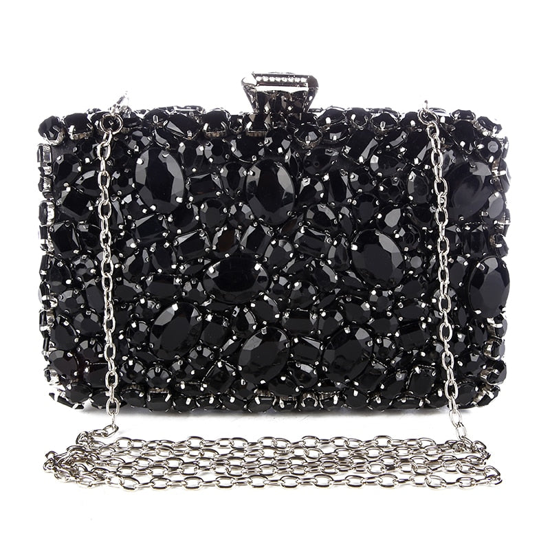 LBP: Little Black Purse - Rhinestone Bling