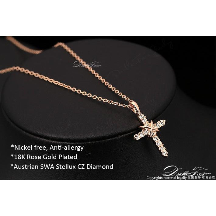 Rose Gold Cross