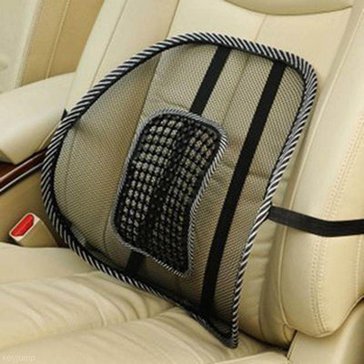 Lumbar Support Cushion for Car and Office- Back Pain Relief