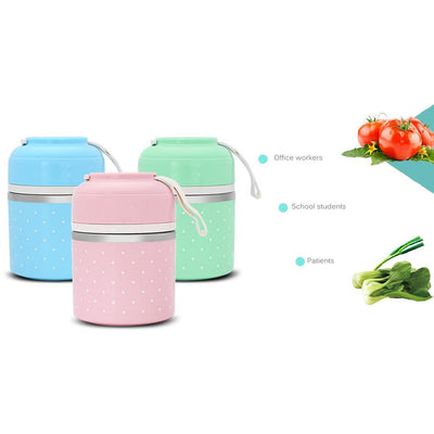 Adorably Functional Compartment Lunchbox