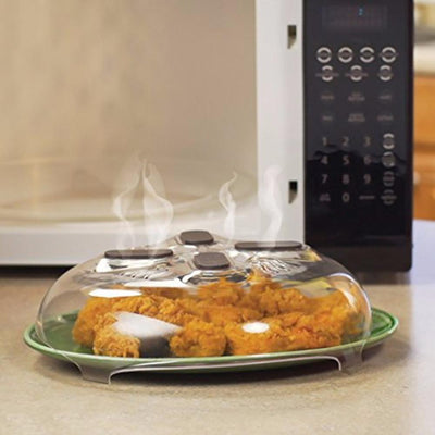 Magic Microwave Splatter Cover
