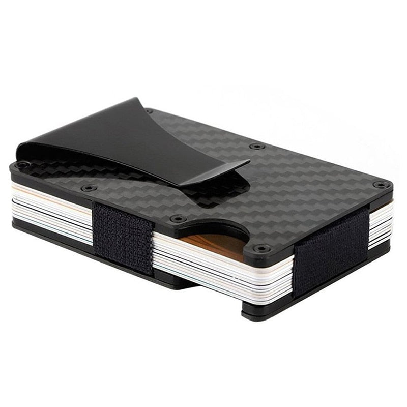 CRBN - Men's Slim Wallet Carbon Fiber Money Clip