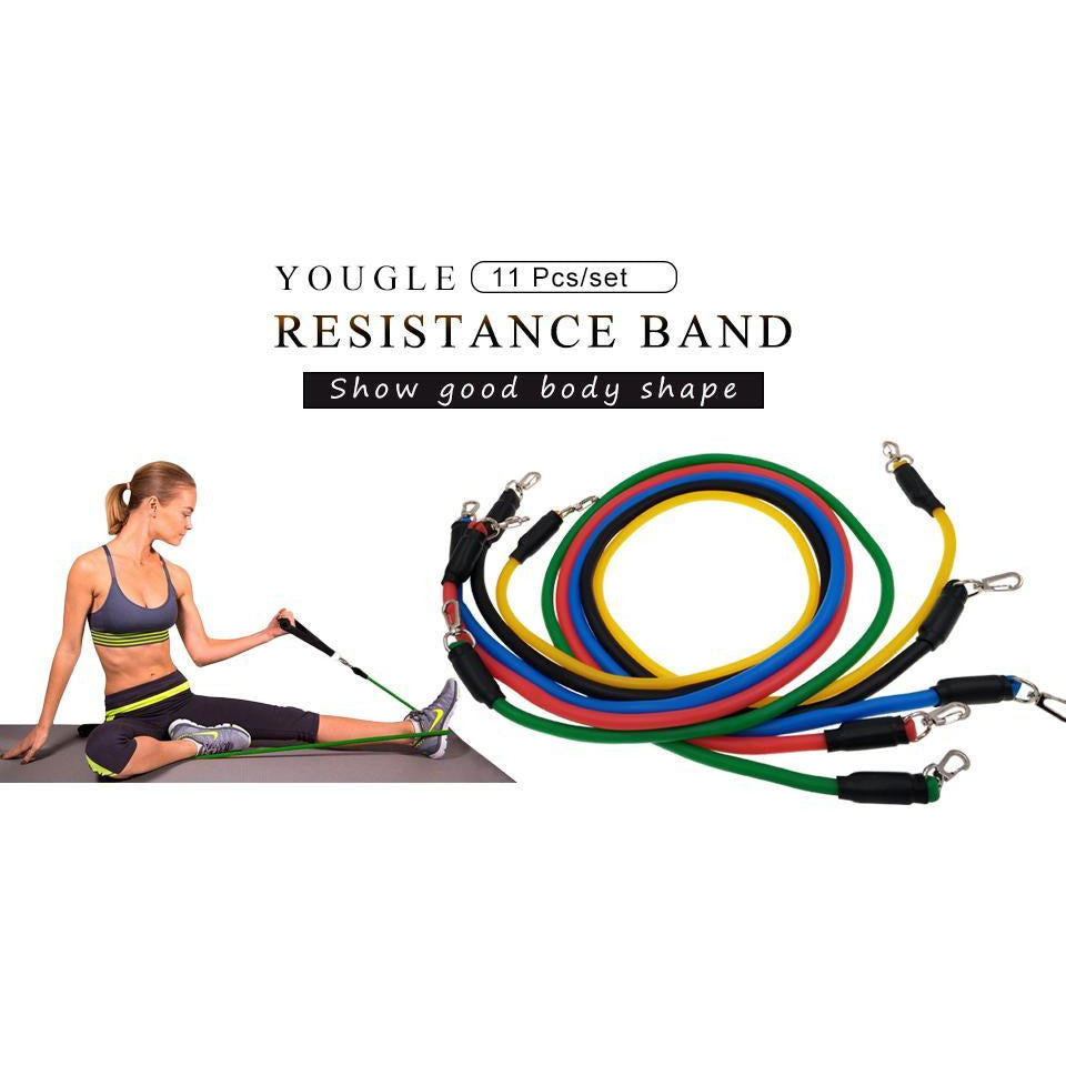 Ultimate Home Resistance Band 11 Piece Set™