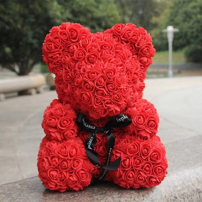 Luxury Rose Bear - Best Valentine's Day Gift