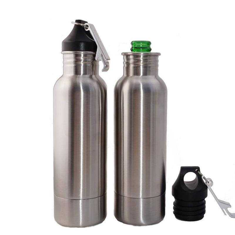 Stainless Steel Beer Bottle Insulator Cooler 12oz
