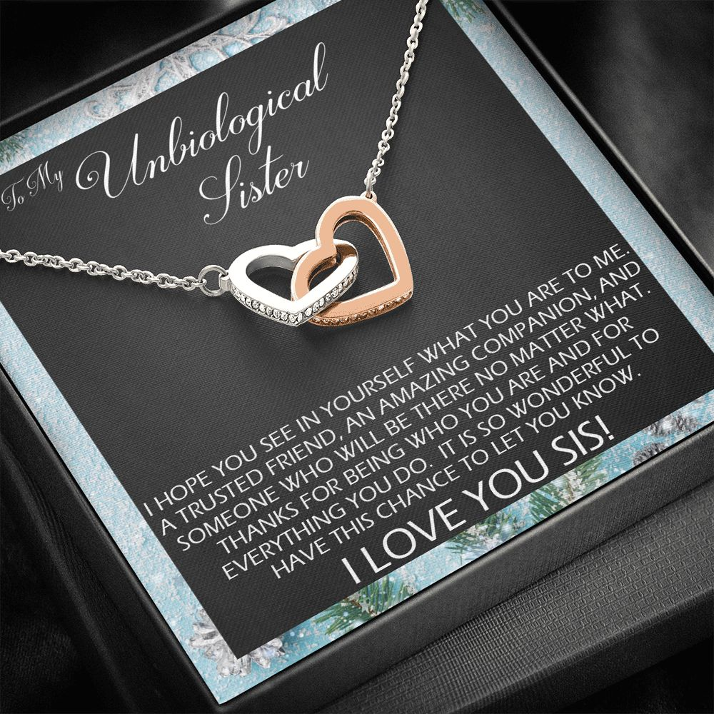 Unbiological Sister - Trusted Friend - Necklace