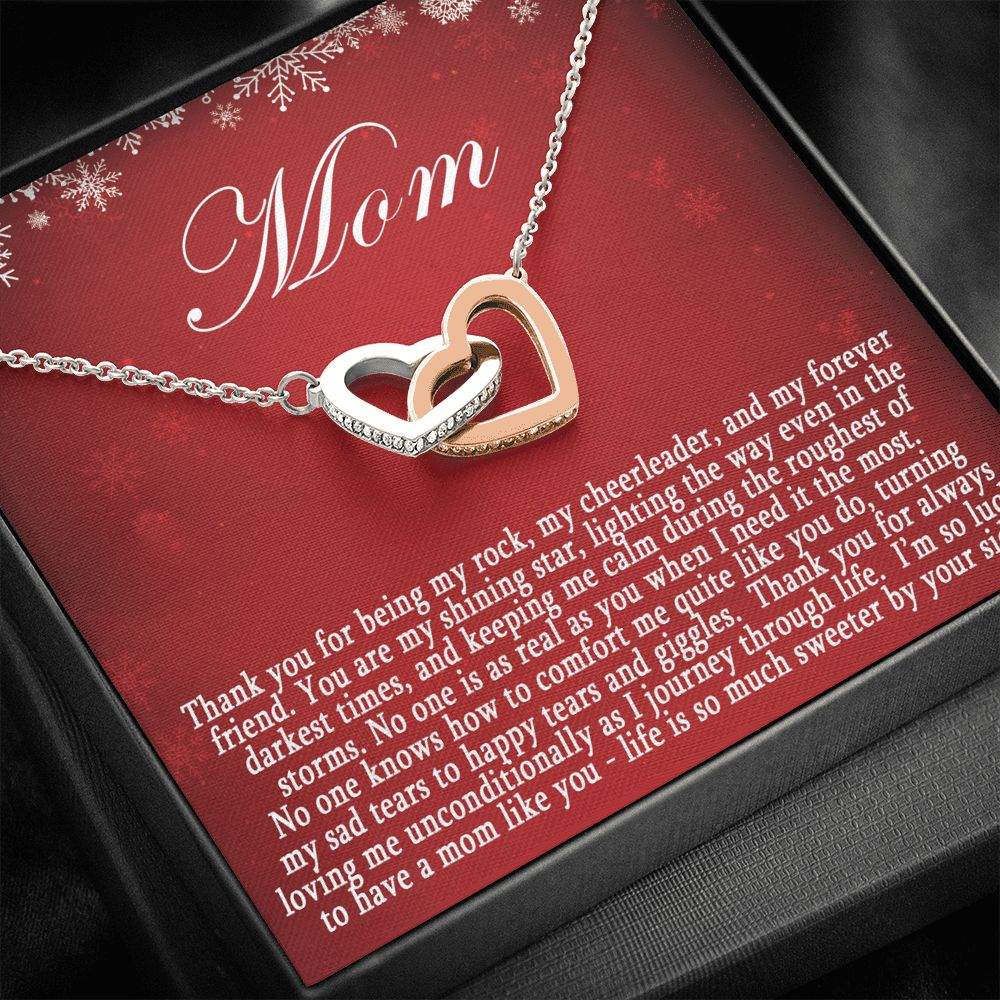 My Rock My Mom - Christmas Necklace