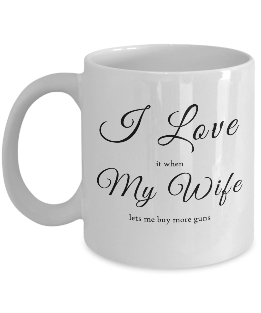 I Love My Wife When