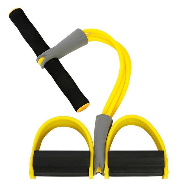 Four Fitness Resistance Band Exercise Equipment for Yoga Pilates Workout
