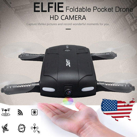 Selfie Drone HD - Full Featured 720P Quadcopter DRONE - RECORD VIDEOS, TAKE PHOTOS, AND FLY!