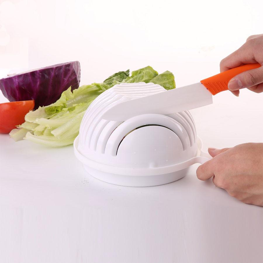 60 Second Salad Cutting Bowl