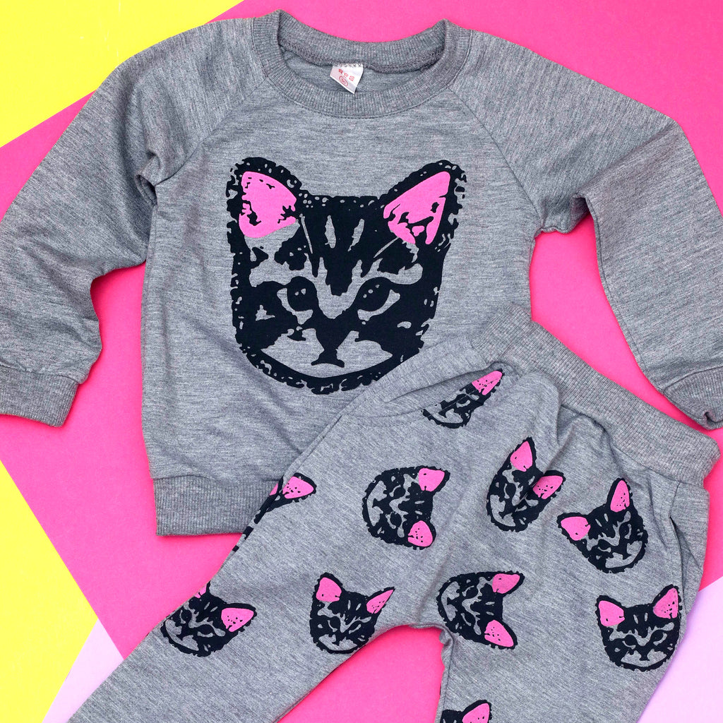 Future Crazy Cat Lady Two-Piece Set