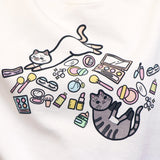 Cats & Makeup Sweatshirt