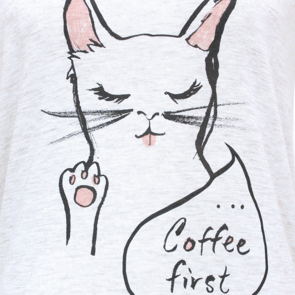 Coffee First Soft Tee