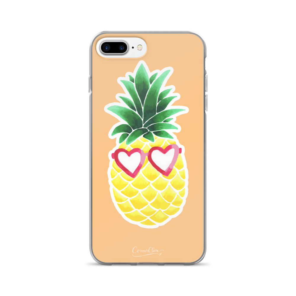 Sassy Pineapple iPhone Case