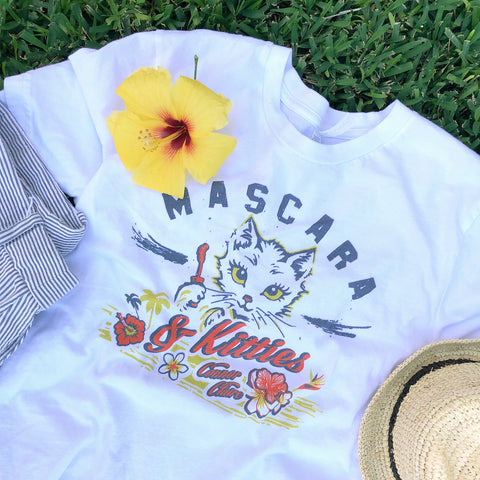 Mascara & Kitties Tee