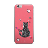Kitty Thinker iPhone Case