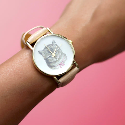 Tender Tabby Wristwatch