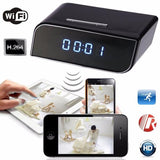 HD 720P Wireless Wifi IP Spy Hidden Camera IR DV Cam Motion Security Alarm Clock