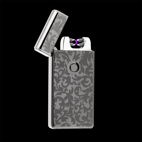 USB Rechargeable Plasma Arc Pulse Metal Electric Lighter