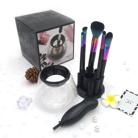 Electric Makeup Cosmetic Brushes Tool Set