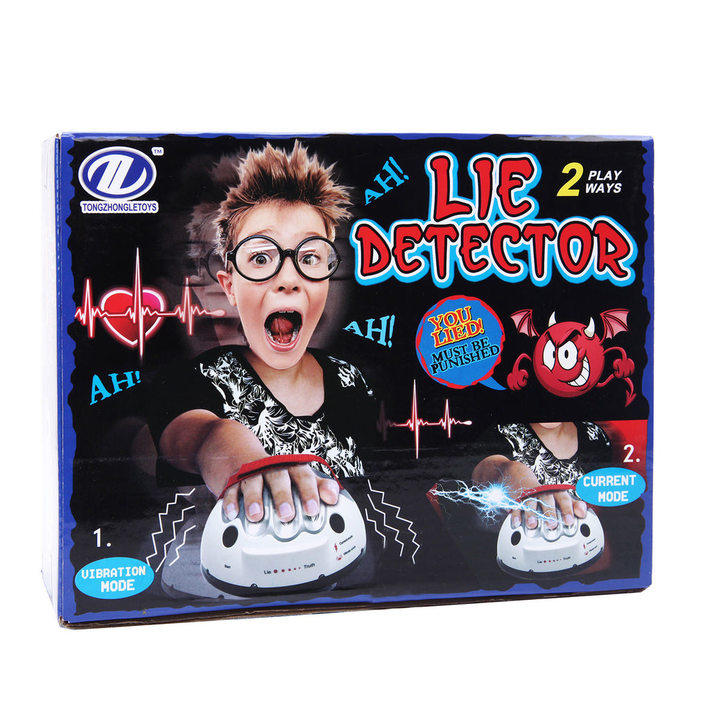 Lie Detector Game Polygraph Electric Shocking