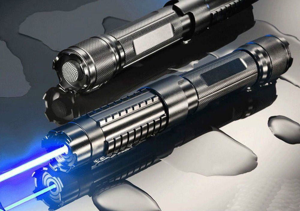 450nm Adjustable Blue Beam Laser Pointer Pen