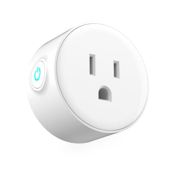 2-Pack Smart Wi-Fi Mini Outlet Plug Switch Works With Echo Alexa Remote Control
