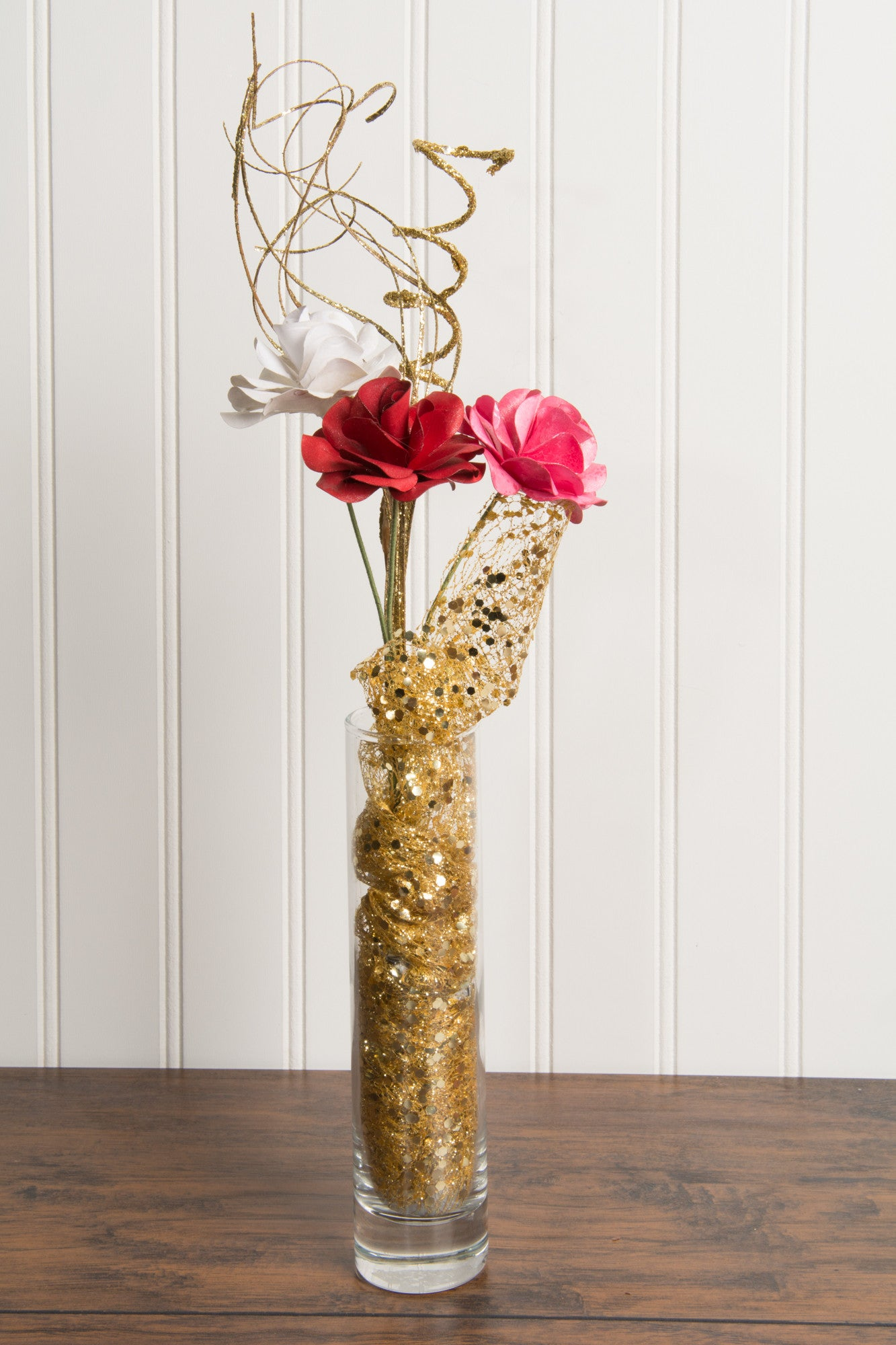 Be My Valentine Handcrafted Paper Flower Arrangement The Papers