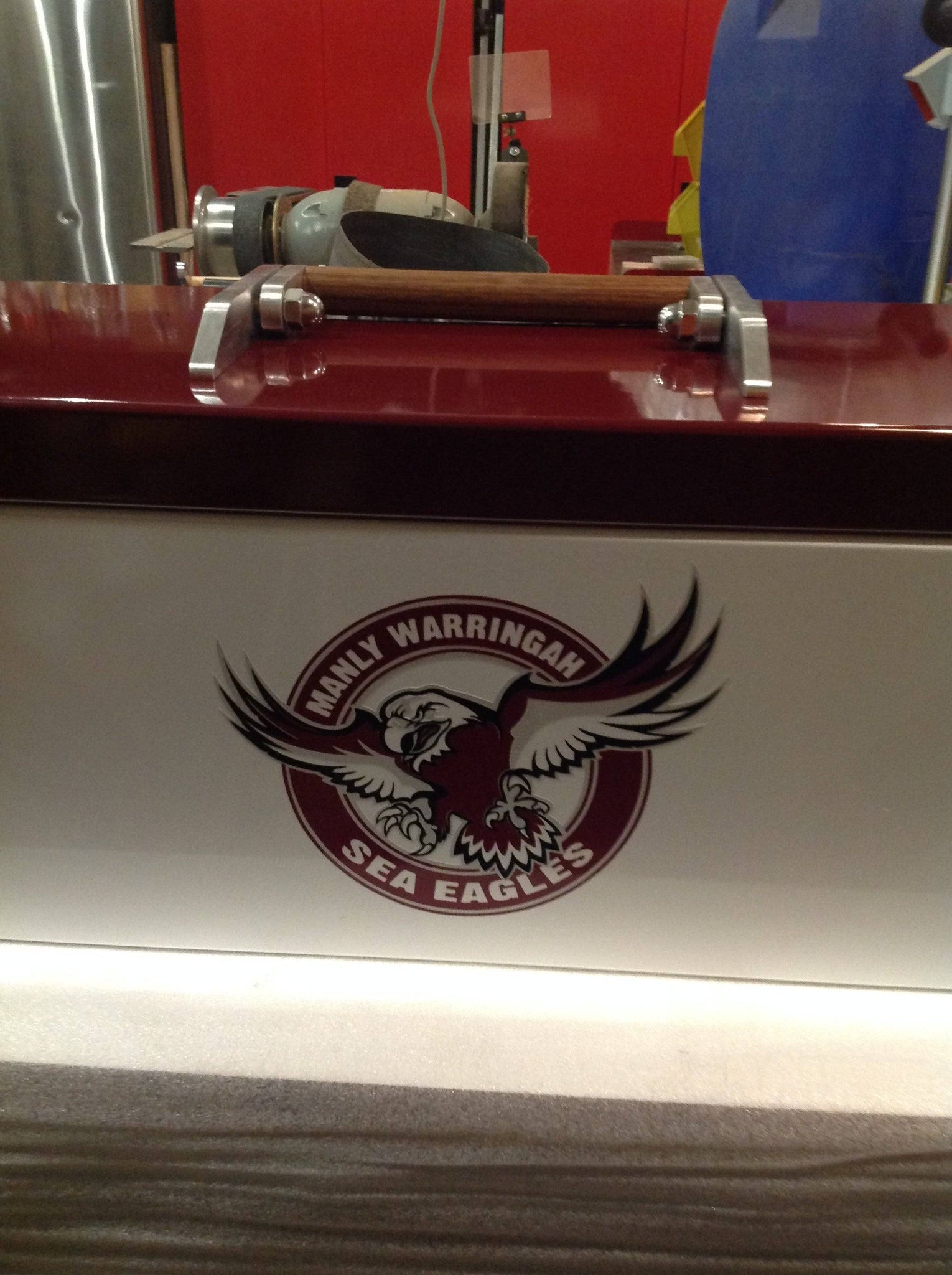 Axe Box - Custom Vinyl Decal