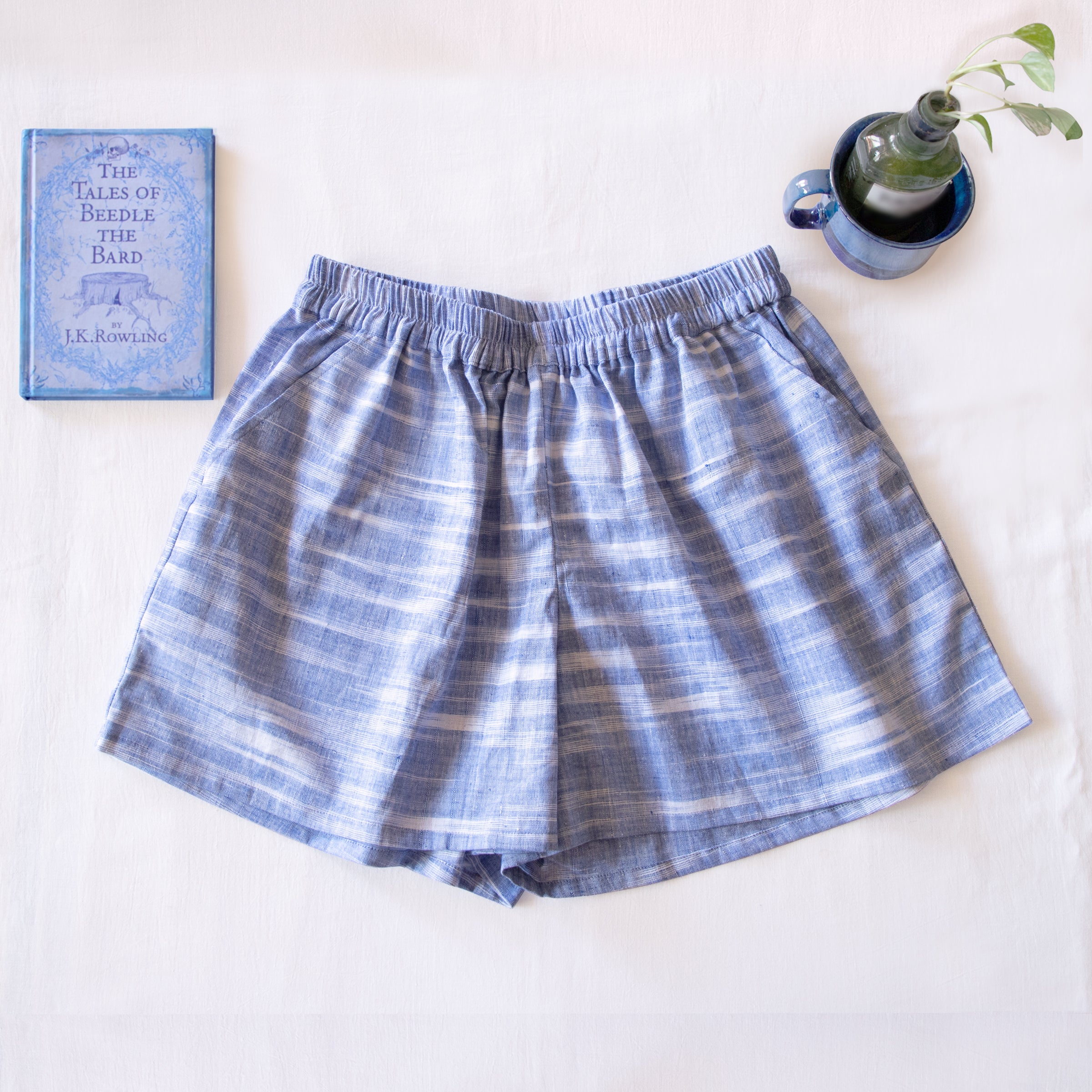 Beach Blue Zero Waste Shorts