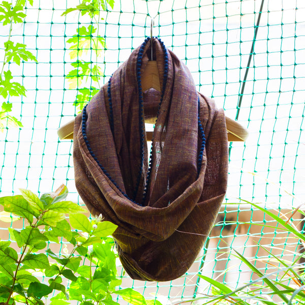 Go-to Infinity scarf - Brown