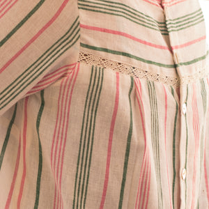 Pomogrenade_Peekaboo Top Multicolour stripes_closeup