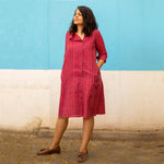 Red Paprika Upgraded Shirt Dress