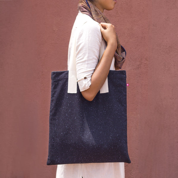Achromatic Reversible Tote - Pomogrenade - Ethical fashion