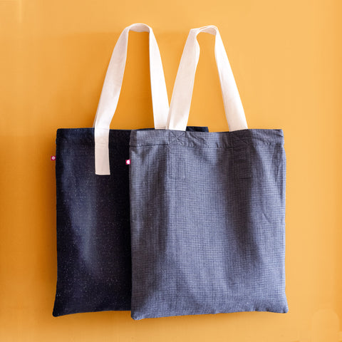 Achromatic Reversible Tote